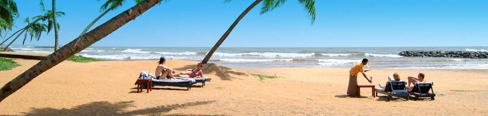 Strand van Sri Lanka