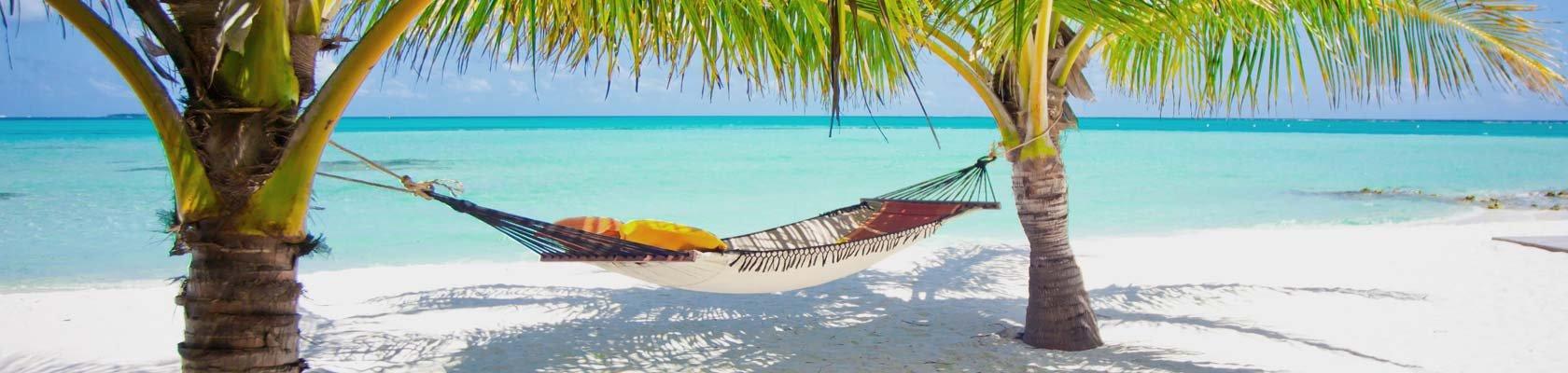 Paradijselijke witte stranden