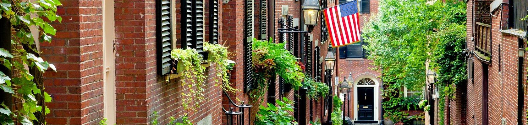 Eén van de oudste steden van Amerika, Boston