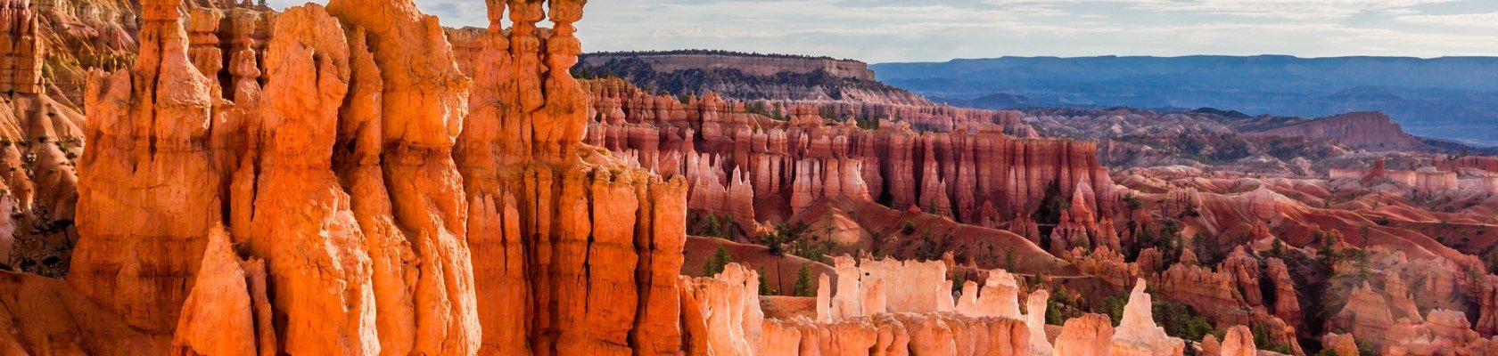Schilderachtige kleuren van Bryce Canyon Nationaal Park