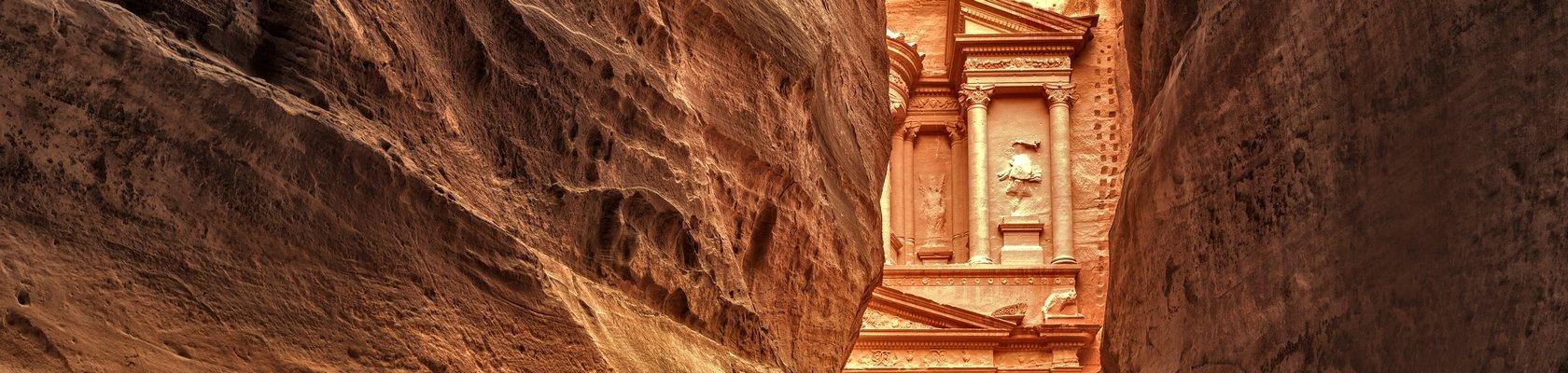 Petra, één van de 7 wereldwonderen