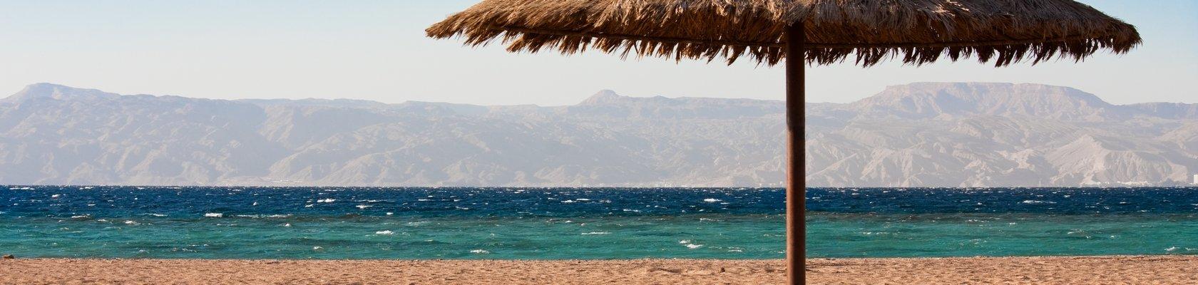 Aqaba, aan de Rode Zee