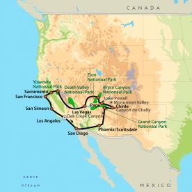 Rondreis Amerika