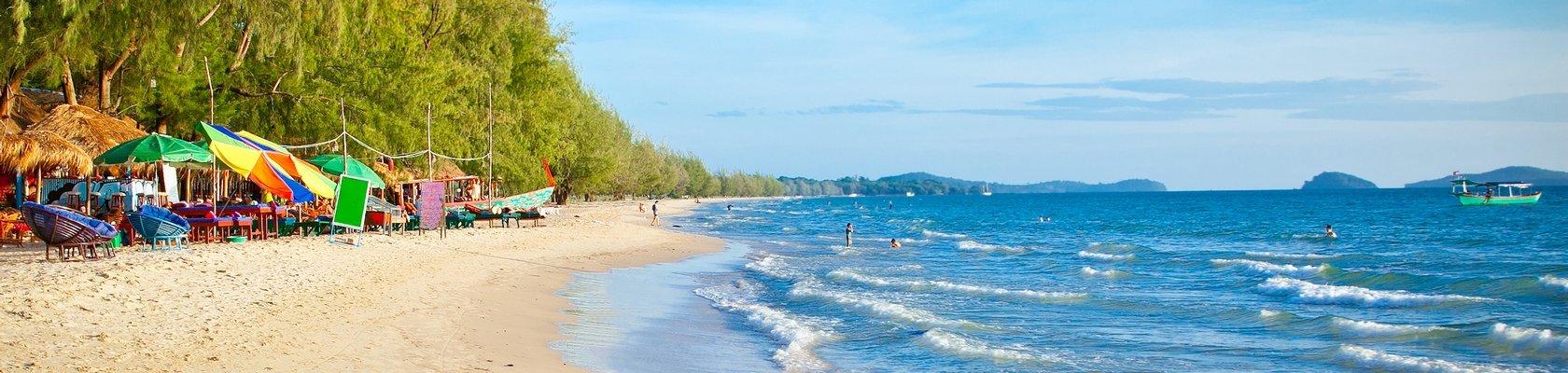 Strand van Sihanoukville