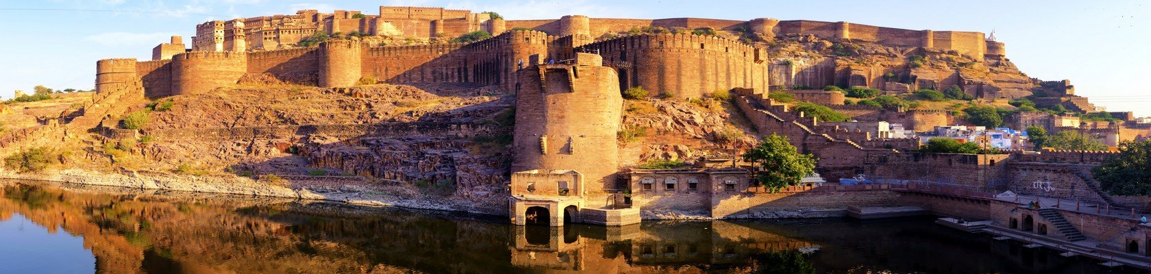 Het imposante Mehrangarh Fort