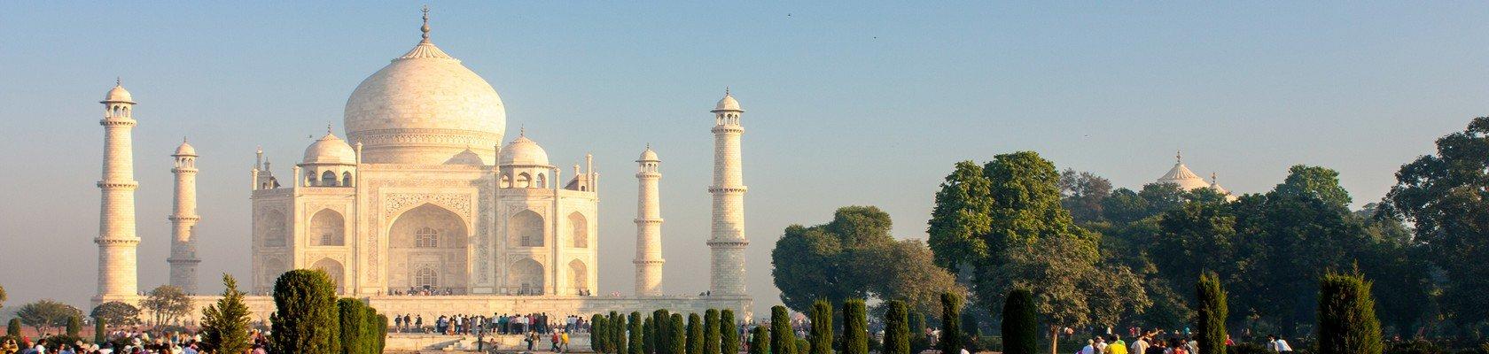 Romantisch Taj Mahal