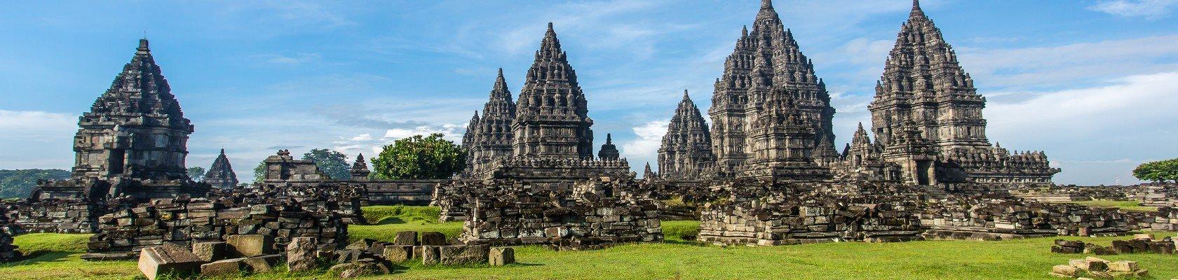 Prachtige Prambanan Tempels