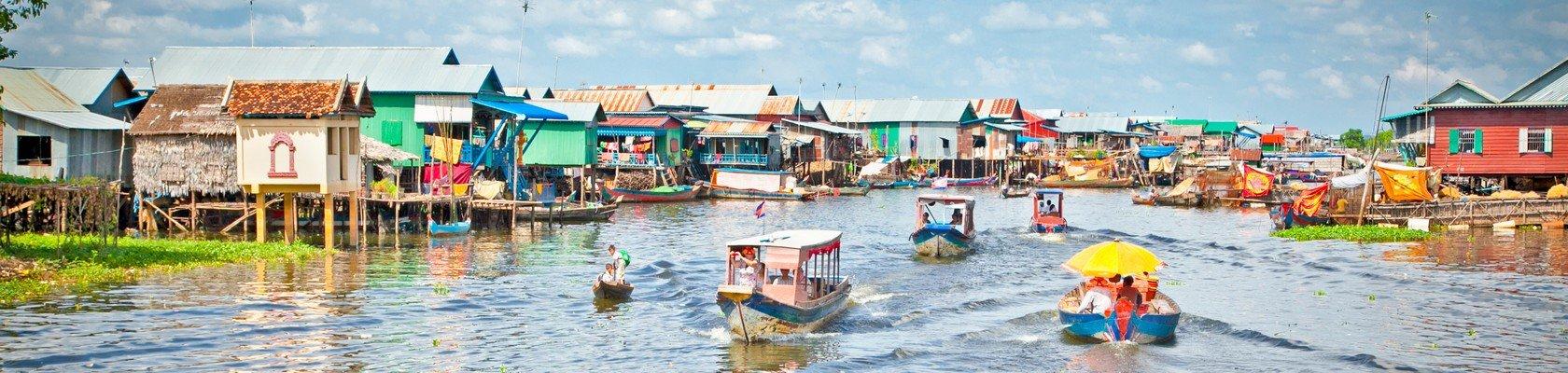 Boottocht over het Tonle Sap meer