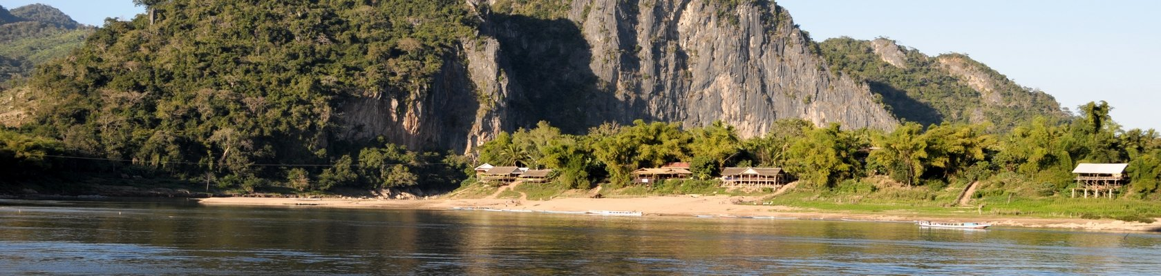 2-daagse boottocht over de Mekong Rivier