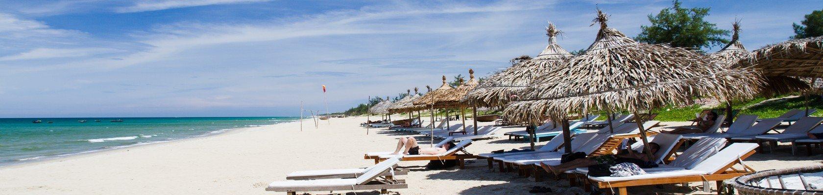 Stranddagen in Hoi An