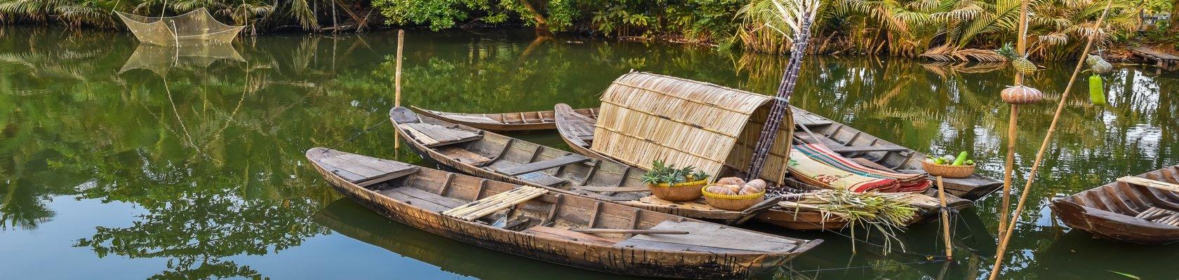 Logeren middenin de Mekong Delta