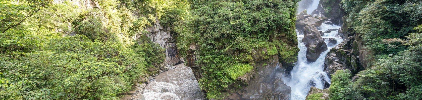 Watervallen van Baños