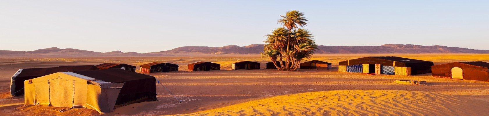 Slapen bij de Bedoeïnen