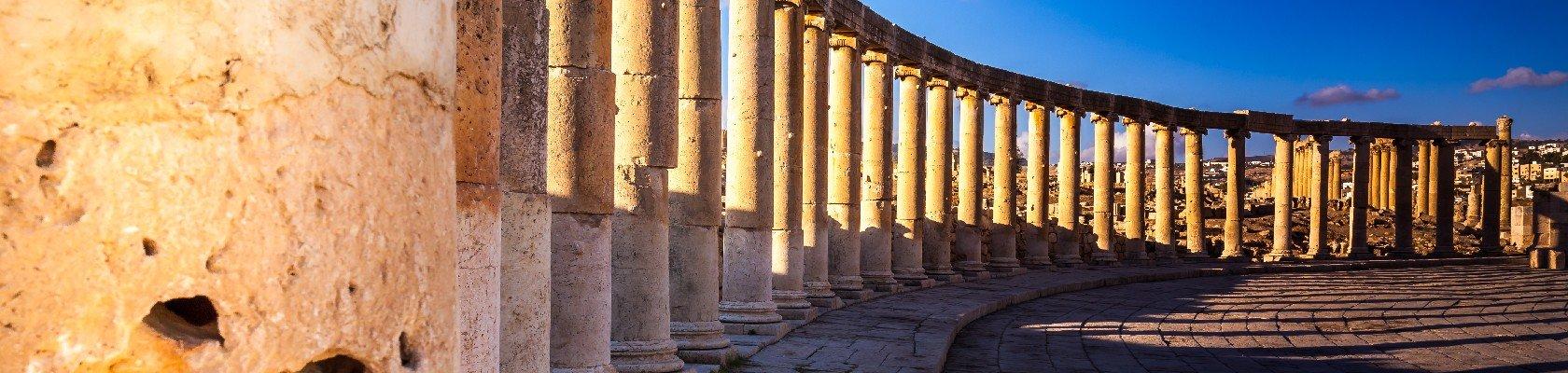 Jerash, het pompeï van het Midden-Oosten