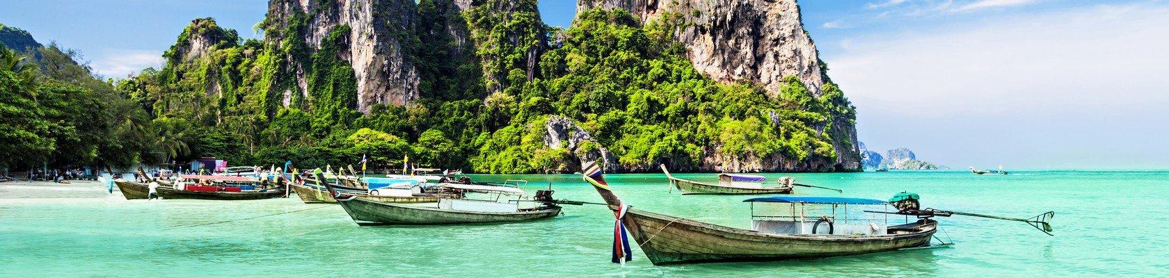 Gezellige stranden van Phuket