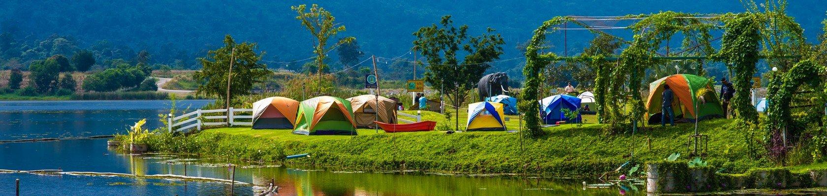 Slapen in het Khao Yai Tented Camp