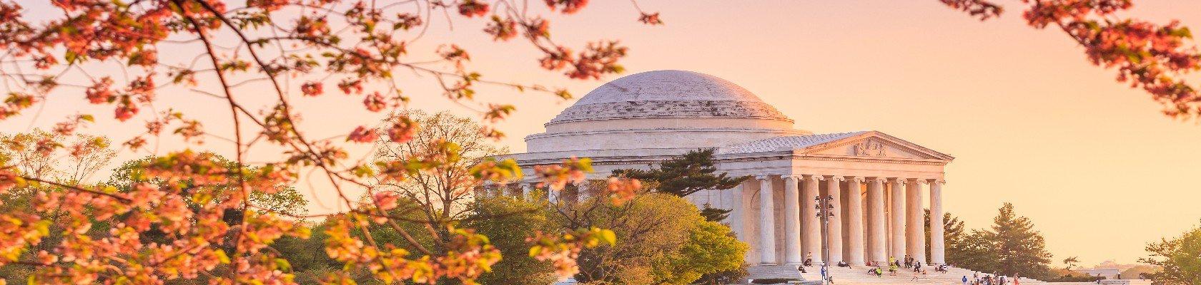 De hoofdstad Washington D.C.