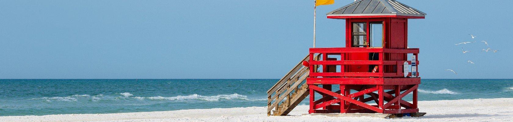 Schitterende stranden van Sarasota
