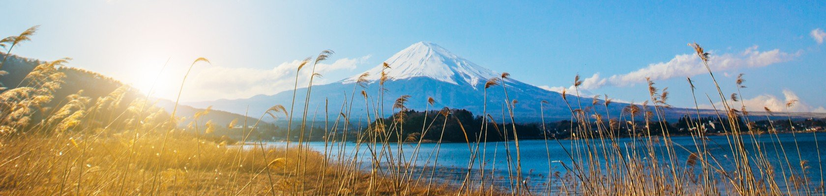De beroemde Mount Fuji