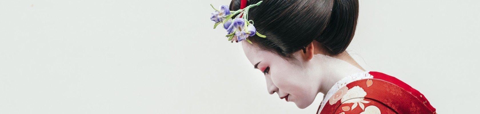 Een echte geisha