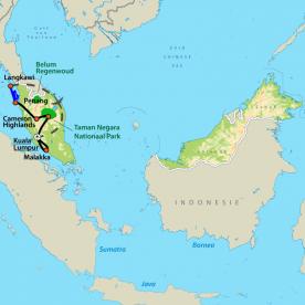 Groepsreis Mooiste van Maleisië