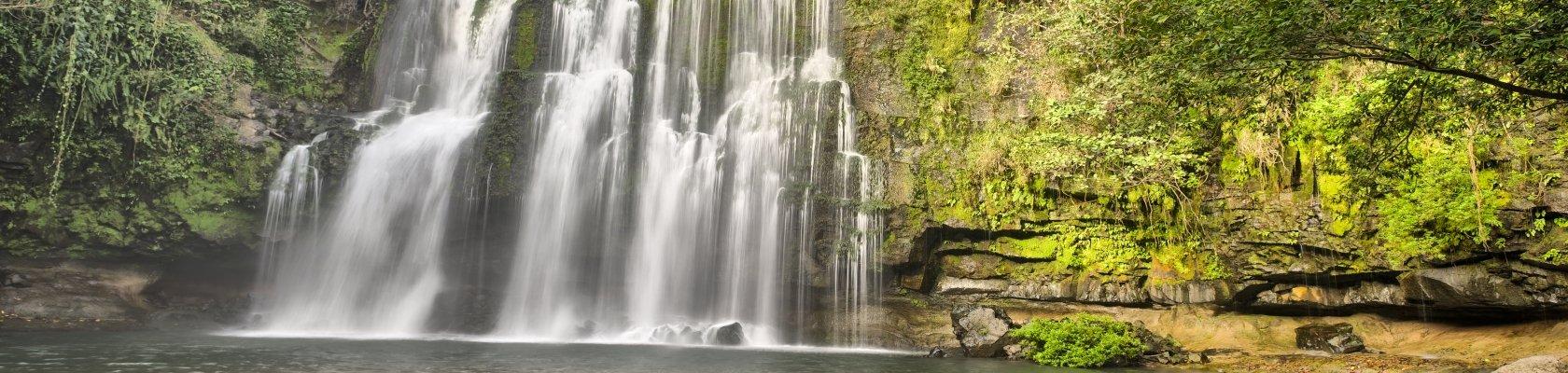 Llanos de Cortés waterval