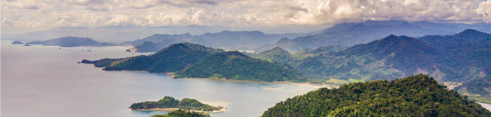 kust van West-Sumatra