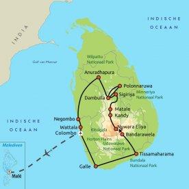 Sri Lanka & de Malediven