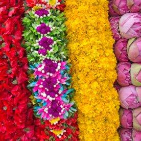 Offerbloemen Zuid-India