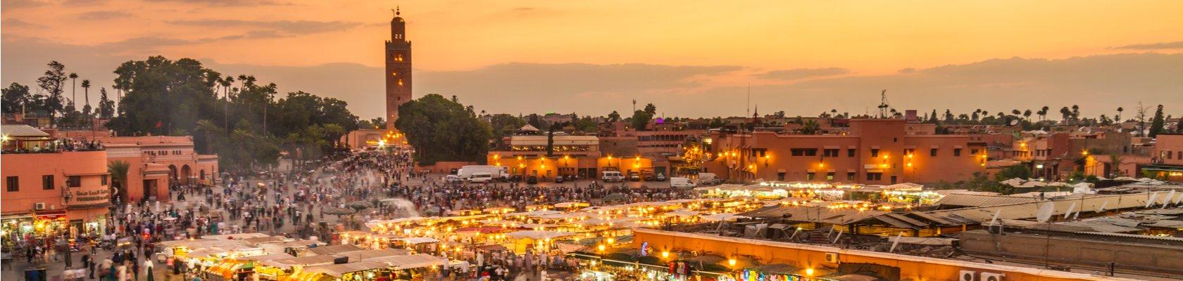Djemaa el Fna plein, Marrakech