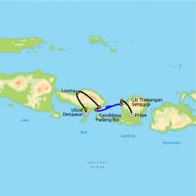 Impressies van Bali & Lombok