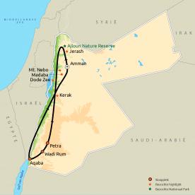 Hoogtepunten van Jordanië