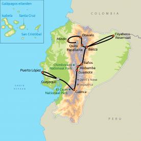 Ecuador Compleet incl. strandverblijf