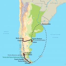 Patagonië compleet