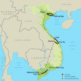 Impressies van Vietnam