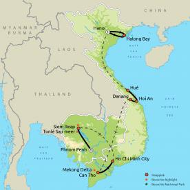 Vietnam & Cambodja