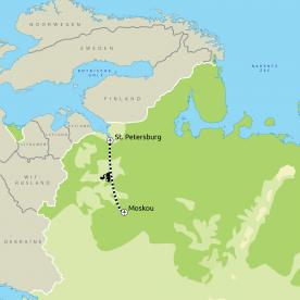 Groepsreis Moskou & St. Petersburg