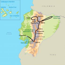 Ecuador Compleet (GRO)
