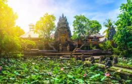 Bekijk zuidkust van Bali