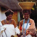 Xhosa Vrouw Zuid-Afrika