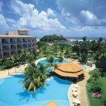Overzicht Eden Resort Beruwela Sri Lanka