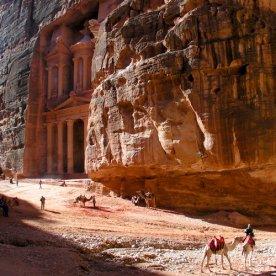 Oude Stad Petra Jordanië