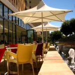 Detail Fountains Hotel Kaapstad Zuid Afrika