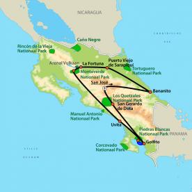 Ontdek Costa Rica