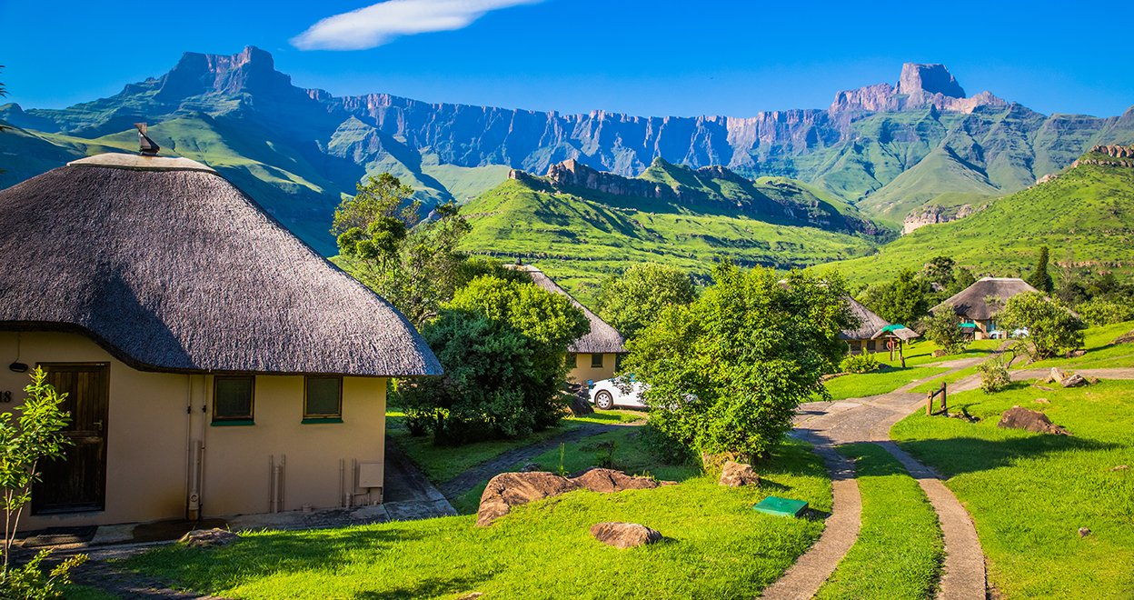 Bezienswaardigheid Drakensbergen - Zuid-Afrika
