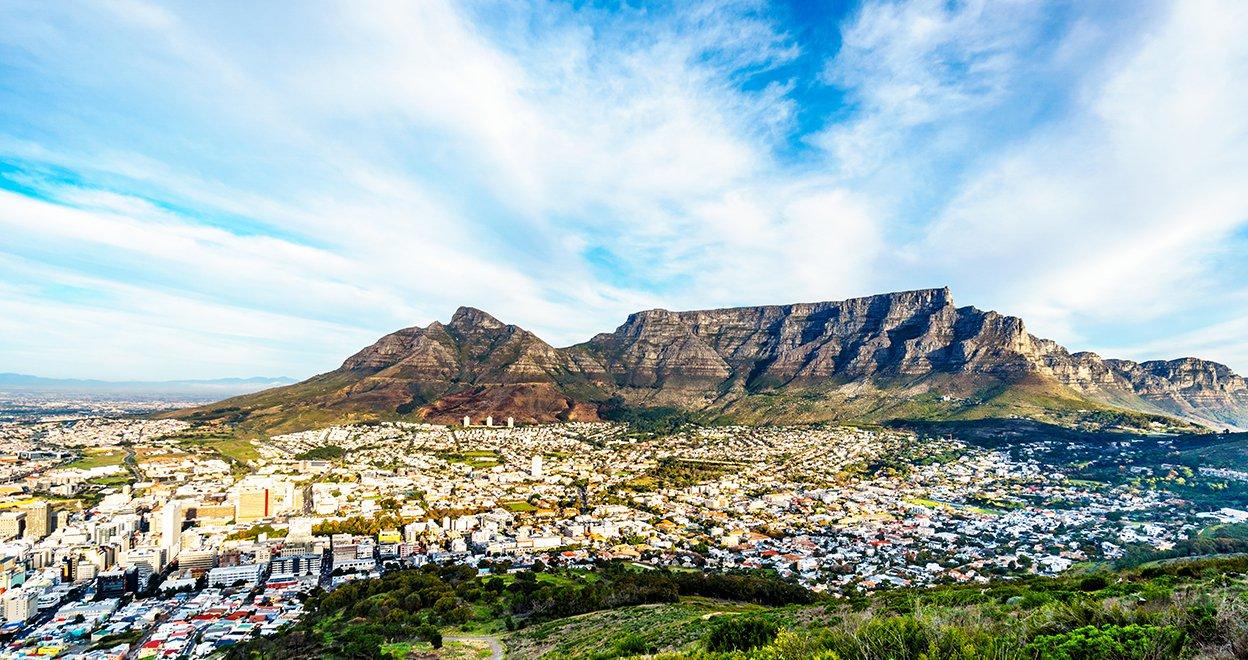 Bezienswaardigheid De Tafelberg - Zuid-Afrika