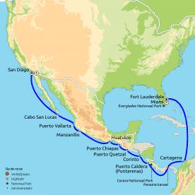 Panamakanaal cruise