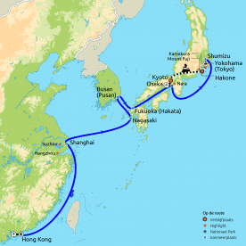 Rondreis & Cruise China & Japan