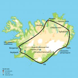 Hoogtepunten van IJsland groepsreis