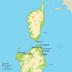 Stralend Sardinië & Corsica